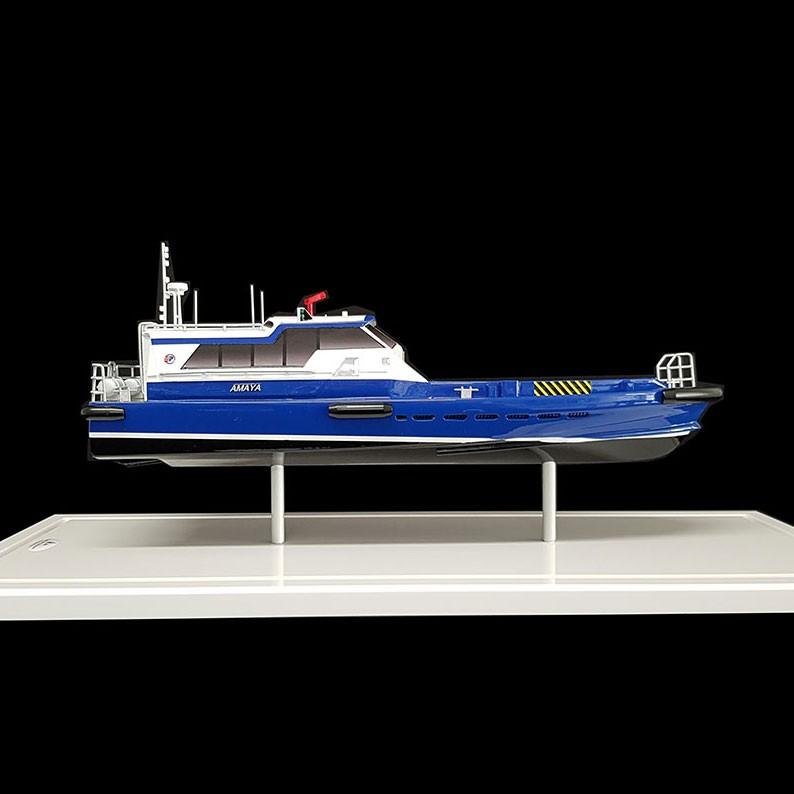 Maquette_Crewboat_Efinor_Allais