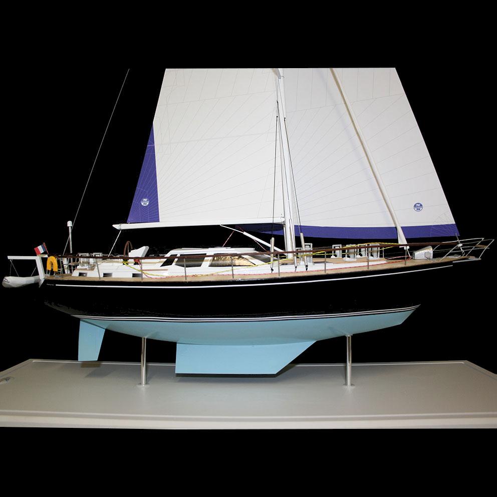 Maquette_Nauticat_côté