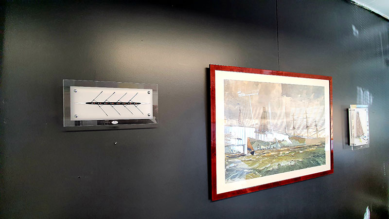 cadre-aviron-sur-un-mur
